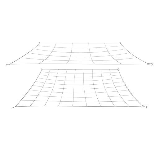 Ranger 1//8-Inch Mesh Minnow Seine Net 4-Feet x 4-Feet