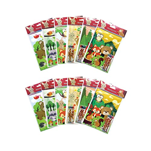 Party Favors Disney Cars Coloring Book /& Crayon Set 12 Pack Assorted Style
