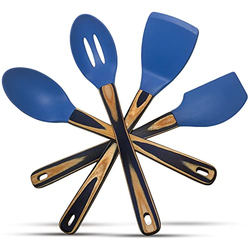 Silicone Spatulas And Cooking Spoons