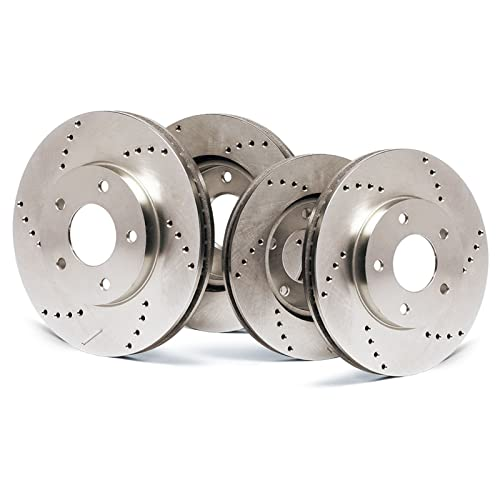 Fits: 2008 08 2009 09 2010 10 2011 11 2012 12 Ford Escape w//Steel Piston Max Brakes Front Premium Brake Kit OE Series Rotors + Ceramic Pads KT061041