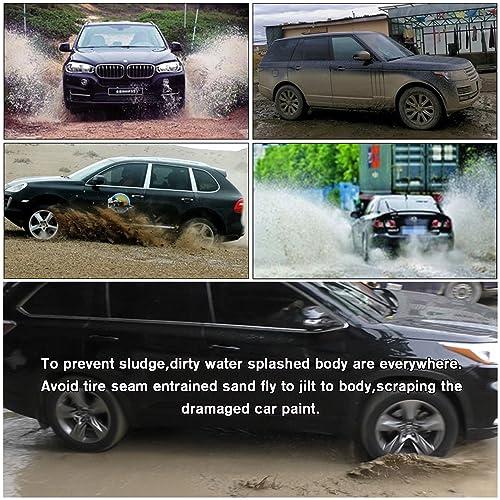 SPEEDLONG 4Pcs Car Mud Flaps Splash Guard Fender Mudguard for Toyota Highlander 2014 2015 2016 2017 2018