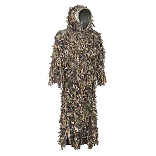 Military Hunting Quiet Woodland Spring Leafy 3d Camouflage Camo Ghillie Suit SET