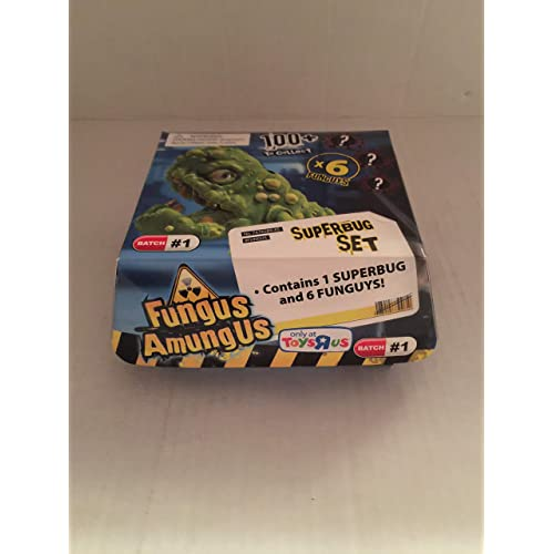 Fungus Amunus Cryo Chamber Lab Playset with Funguy Test Tubes Toy