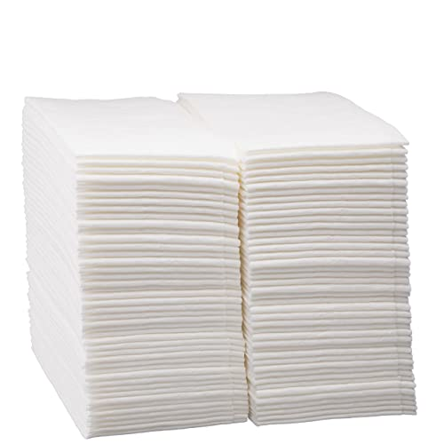 Linen Feel Disposable Guest Hand Towels