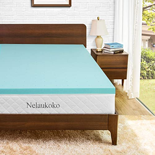 Buy Nelaukoko 3 Inch Mattress Topper Twin Memory Foam Mattress Pad