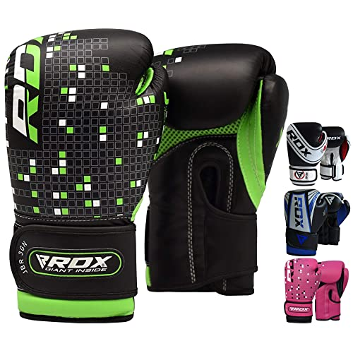 RDX Kids Boxing Gloves Muay Thai Training Junior Mitts  MMA Punch Bag Kickboxing