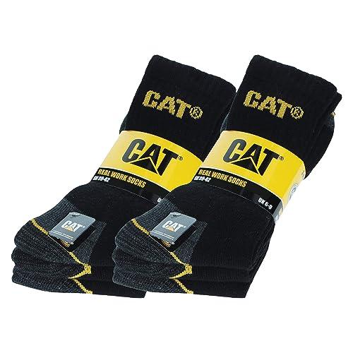 Black Europe 41-46 Size UK 7-11 Laulax 4 Pairs Unbreakable Toe Work Socks