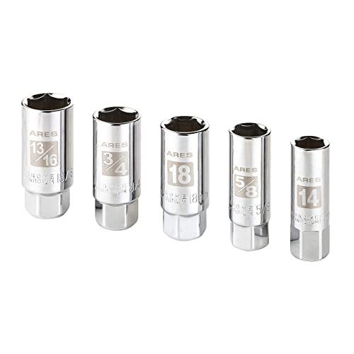 Sunex Spark Plug Sockets 7-piece 3//8 in Drive Vanadium Steel Chrome Set