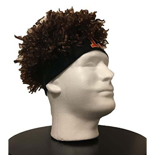 Fits Kids and Adults Star Athlete Headband Wig Watts Wigs