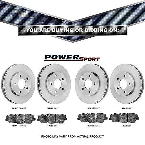 Full Kit Replacement Brake Rotors and Ceramic Brake Pads BLBC.42129.02