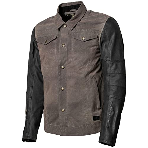 Black//Small Roland Sands Design Ringo Waxed Mens Street Motocycle Vest