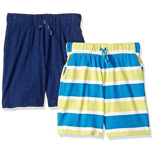 Brand Spotted Zebra Boys Toddler /& Kids 2-Pack Active Mesh Shorts