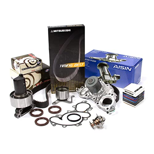 Fit 88-92 Toyota Pickup 3.0L Timing Belt Kit GMB Water Pump w//pipe Valve Cover