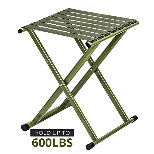 Bedroom KUSEN Portable Telescoping Camping Stool,Retractable Folding stools olds up 350 Lbs ,Super Compact for Camping Fishing Hiking Gardening and Beach Kitchen Bathroom Kids or Adults