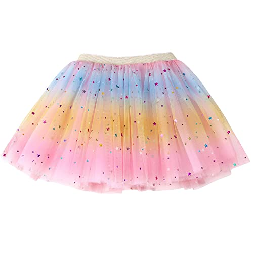 2-8 Years Baby Tutu Dress Party Dance Pincess Layered Dresses Toddler Kids Girls Baby Tulle Star Sequins Princess Tutu Skirt Outfits Costume Girls Toddler /& Kids Sparkle Tutu Skirt Blue