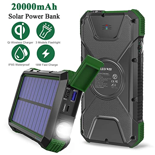 Waterproof Sunpower Solar Charger Panel Mobile Solar Charger for Power Bank FlexSolar 8.5W Foldable Solar Charger iPhone /& All 5V Electronic Devices