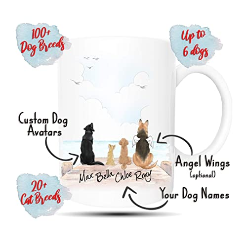 Personalised Dog Mug Schnauzer Ideal Pet gift for a dog owner