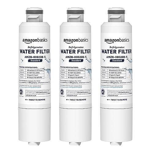 2 Pack Samsung Refrigerator Water Filter Replacement DA29-00020B HAF-CIN//EXP For French Door Fridge Kitchen By GLACIER FRESH