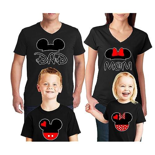 MOM of the Birthday Boy Mickey Mouse T Shirt Mickey Birthday Shirt DAD 269