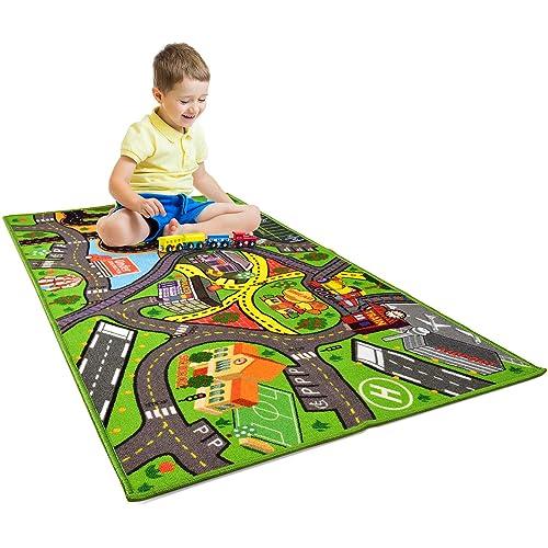 Car Rug Play Mat Kids Carpet Playmat