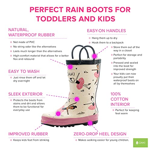Camo Green Western Chief Boys Waterproof Rain Boots that Light up with Each Step 13 M US Little Kid