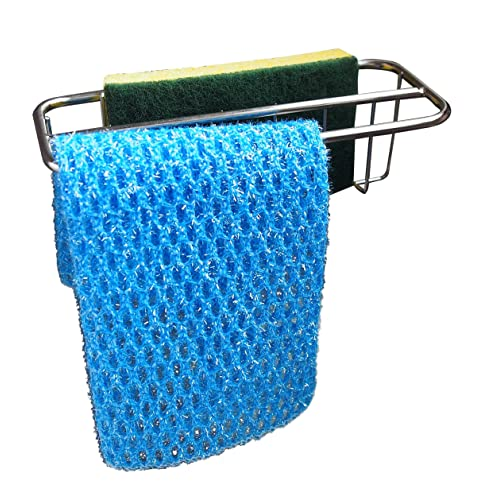 Dish Cloth Hanger ComboStainless... 2-in-1 Kitchen Sink CaddySponge