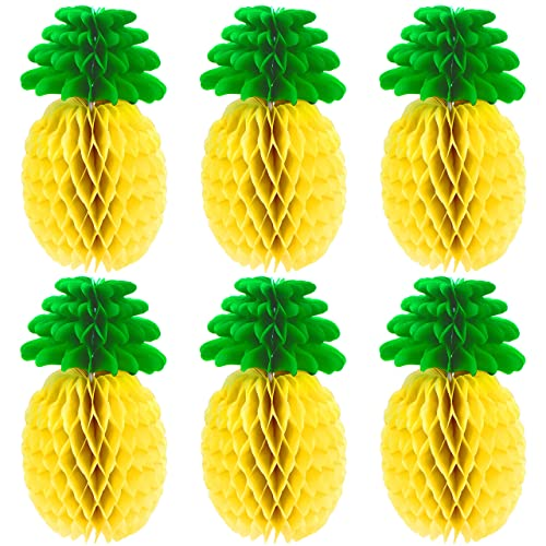 Tropical Honeycomb Pineapple Centrepiece Table Decoration Hawaiian Party