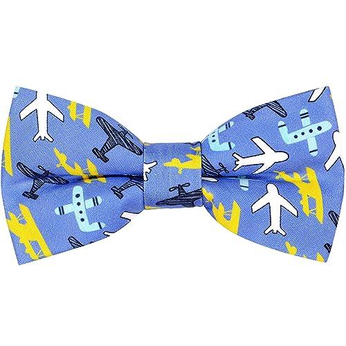 Boy Kid Children Toddler Infant Solid Bowtie Pre Tied Wedding Bow Tie Necktie HK