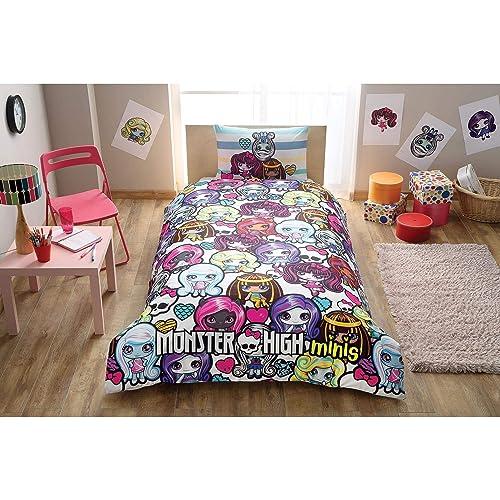 Cotton Duvet Quilt Cover, Monster High Bedding Twin
