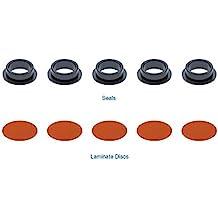 FRONT Premium Semi-Loaded Red Brake Caliper Pair Callahan CCK05190 Nissan Sentra 2 Hardware Kit