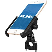 Black GOOFIT Bike Phone Handlebars Mount for Motorcycle,Bicycle Rack Handlebar Adjustable,Fits for Holds iPhone X//8+//7//7Plus+//6//5,Samsung Galaxy S6//S5,HTC,BlackBerry,Holds Phones Up to 3.5 Wide