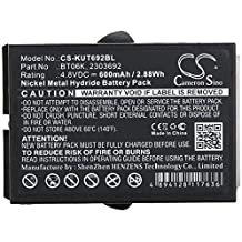 KML Battery for Icom 7.20V 600mAh Ni-MH Replacement Battery