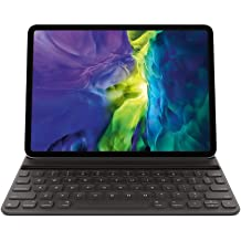 Support Apple Pencil Charging Wireless Detachable Keyboard with Protective Cover - for iPad Pro 11 Inches 2020//2018 SENGBIRCH iPad Pro 11 Keyboard Case 2020//2018 Black
