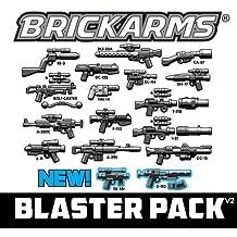 BrickArms M1919 Machine GUNNER PACK for WW2 Custom Minifigure Gun Vest Helmet