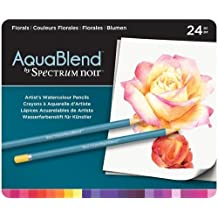 Spectrum Noir SPECCB-PRI24 24 Piece ColourBlend Premium Blendable Artists Pencils Pack of 24 Primaries
