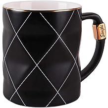 Black Asobu Ultimate Stainless Steel Ceramic Inner Coating Insulated Mug 14 Ounce