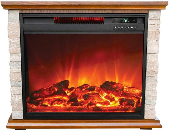 Room Quartz Infrared Electric Fireplace, Electric Fireplace Space Heaters