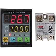 MYPIN® Universal Digital TA6-SNR PID Temperature Controller with Relay DIN 1//8 S