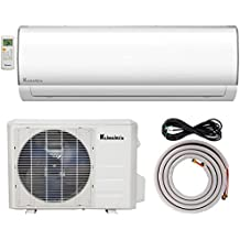 Klimaire 12000 BTU 10.5 EER PTAC Air Conditioner with 3kW Electric Heater Includes Wall Sleeve and Aluminum Grille