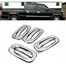 Tailgate Cover Trim Warranty Hot by 99Parts New For 03-08 2003 2004 2005 2006 2007 2008 DODGE Ram 1500 3500 Chrome Door Handle Cover