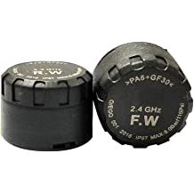 2 External Sensors QM190409 TPMS Motorcycle Tire Pressure Monitor System Waterproof LCD Display Wireless Digital