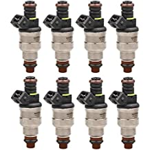 XtremeAmazing 8pcs Upgrade Fuel Injectors Matched Flow For Ford 4.6 5.0 5.4 5.8 0280150943