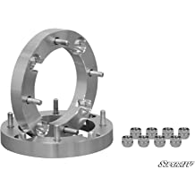 """4Pc 2/"""" Thick 8x6.5 to 8x180 Wheel Spacers Adapter for 02-06 Chevy Avalanche 2500"""