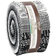 Winters Grandeur 7 Scarlet Roll Up 40 2.5-inch Strips Jelly Roll Robert Kaufman Fabrics RU-830-40