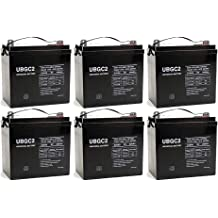 UPG 12V 8AH F2 SLA Battery for Bruno SRE-2750 Electra-Ride LT WITH CHARGER