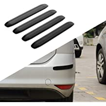 runmade Black Rubber 41 inch Rear Bumper Protector Guard Door Entry Sill Guard 104 cm Universal fit for Car SUV Pickup Truck Boat Non-SLI Scratch-Resistant Boot Sill Protector