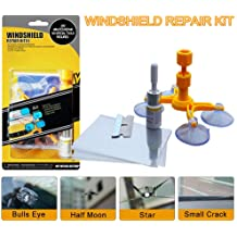 Yoohe Car Windshield Repair Kit Windshield Chip Repair Kit with Windshield Repair Resin for Fix Auto Glass Windshield Crack Chip Scratch Renewed