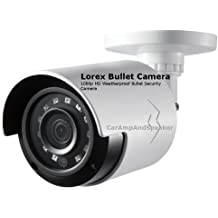 Full HD 1080p Lorex MPX Bullet Camera Lorex 4 Camera MPX Home Security Camera System with Flir 4 Channel DVR and 130ft Night Vision 1TB Remote View with Flir Cloud App 4