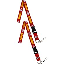 Kansas City Chiefs Pink Lanyard With Safety Latch