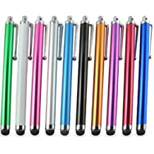 Stylus Pen RETECK 10 Pack of Pink Purple Black Green Silver Stylus Universal ...